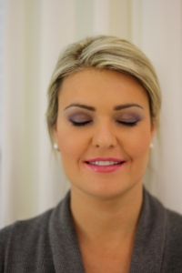 Evening Makeup - Purple Smokey Eye
