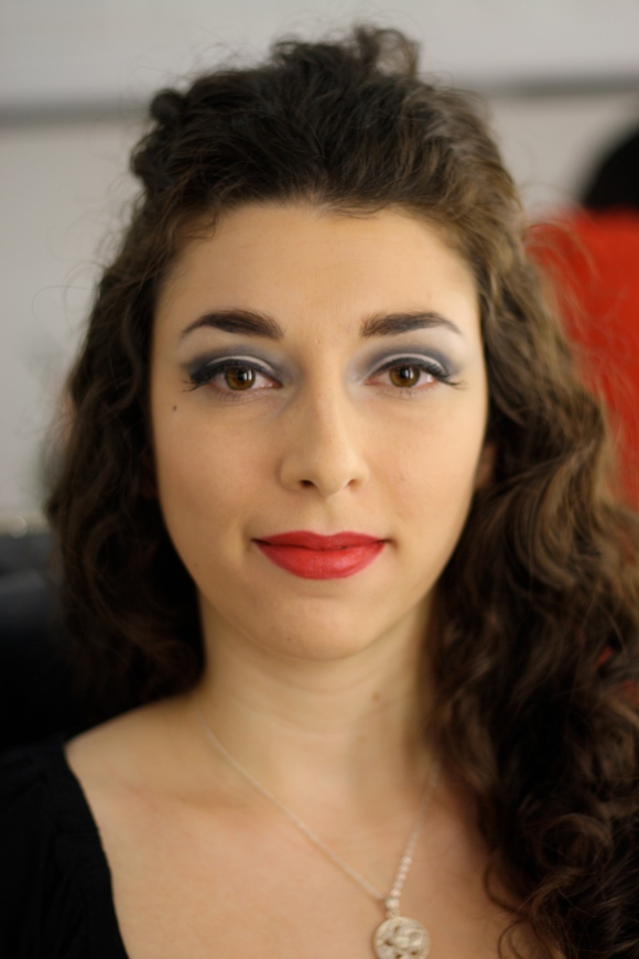 After - Boudoir Inspired Makeup