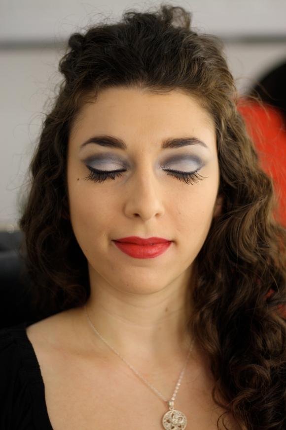 After - Boudoir Inspired Makeup